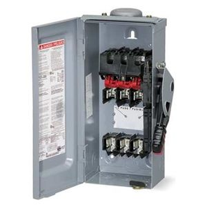 h362rb  safety disconnect switch  600v  60a  3 pole Electrical Transfer Switch Manual 150 Amp Manual Transfer Switch