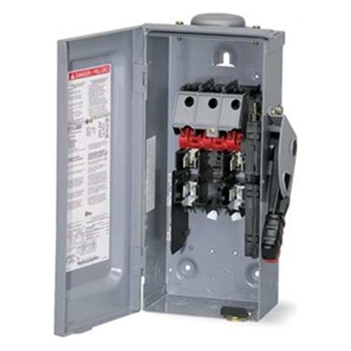 D224nrb Disconnect General Duty Safety Switch Fusible