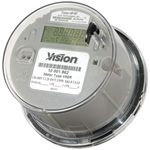 V16S-16S, AC Meter, Kilowatt Hour, Form 15 / 16S, 120v, Class 200 , Three Phase, Vision Metering
