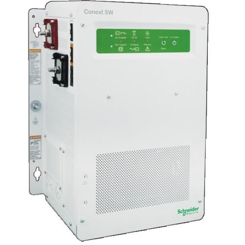 Conext SW Inverter/Charger, 3 8kW, 120V, SW 4048, Schneider Electric