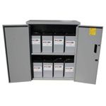 MNBE-D, Battery Enclosure, Locking Door, MidNite Solar