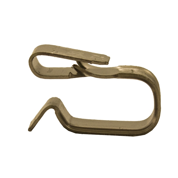 Metal Edge Cable Clip, Clips for PV Wire, 10 to 12 AWG, SST, Pack of 100