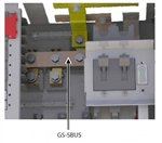 GS-SBUS, Busbar, DC Shunt Bus for GS Load Centers, Outback