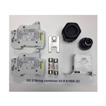 0786K-2C, DC Fused Combiner Kit, 2 Strings, Termin