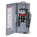 D221NRB, Disconnect, General Duty Safety Switch, Fusible, 100A, 240VAC, 3R Enclosure, 2 pole, Square-D