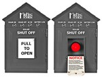 Birdhouse Remote Emergency Combiner Disconnect Switch, Gray, MNBIRDHOUSE1-GRAY