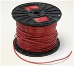 09.1000-R, THHN THWN-2 Cable, #10 AWG, Red, Per Foot (ft), PVC