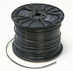 09.1200-B, THHN THWN-2 Cable, #12 AWG, Black, Per Foot (ft), PVC