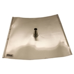 175-05001, Solar Flashing, 18in x 18in, dead soft aluminum for tile roofs, Verde Industries