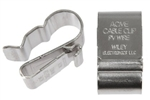30020081, Cable Clip, 1 to 2 PV Wires, Stainless Steel, 6.8 to 7.2mm, Module, Wiley