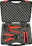 R624 105-03, Rennsteig, Solar Wire/Crimping Kit, Tyco  Crimp tool, Die-Set, Locator, Insulation Stripper, Cable Cutter