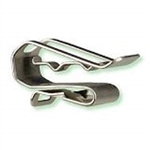 HEYClip S6445 SunRunner Cable Clip for 1-2 Wires and panels up to .09in. / 2.3 mm thick, SS304
