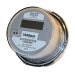 AC Meter, Kilowatt Hour, Form 2S, 240v, Class 200, Option Pulse Board VST-2SP, Vision Metering